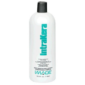 Image IntraKera, Deep Penetrating Leave-In Conditioning Complex, 33.8 fl oz (1 lt)