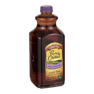 Turkey Hill Pure & Chilled Iced Tea Lightly Sweetened