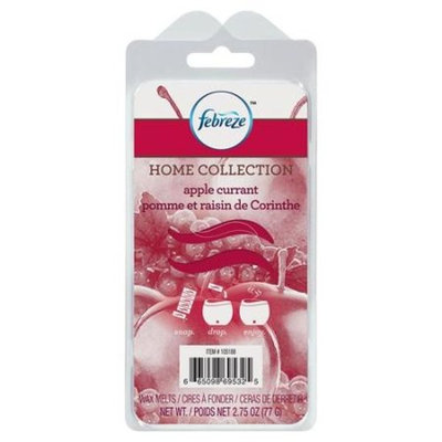 Febreze Home Collection Wax Melts, Apple Currant, 6 Pack