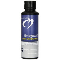 Designs for Health - OmegAvail Lemon Drop Smoothie - 8 oz Health and Beauty