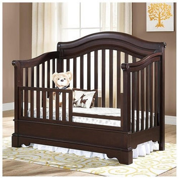 Bertini Castlebrook Toddler Guard Rail - Espresso