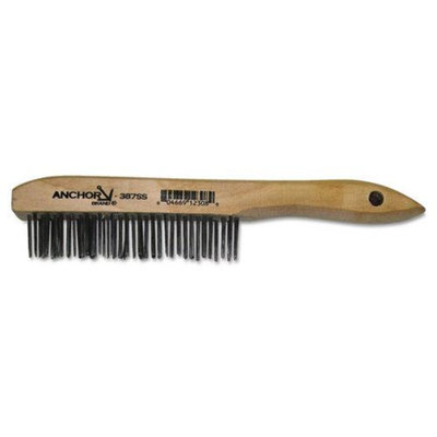 Anchor Brand ANR387SS Cleaning Tools Janitorial Supplies Cleaning Brushes; Carbon Steel