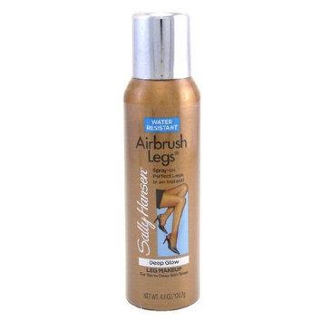 Sally Hansen Airbrush Legs Deep Glow Leg Makeup for Tan to Deep Skin Tones Water Resistant (3-pack)