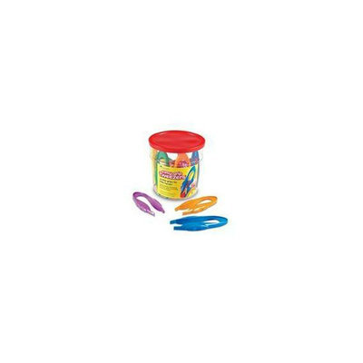 Learning Resources LER1963 Easy Grip Tweezers Set Of 12