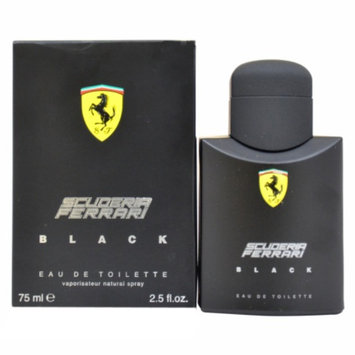 Men's Ferrari Black by Ferrari Eau de Toilette Spray - 2.5 oz