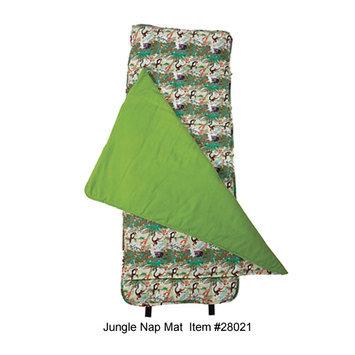 Wildkin 28021 Jungle Nap Mat Green
