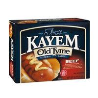 Kayem Old Tyme Natural Casing Frankfurters Beef