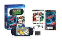 Sony PSP System with Cars 2: The Video Game and FIFA Soccer 12 Entertainment Pack