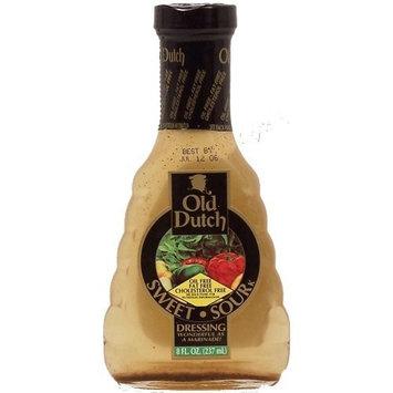 Old Dutch Dutch sweet-sour dressing & marinade fat free cholesterol free ONE 8 fl oz Glass Bottle(s)