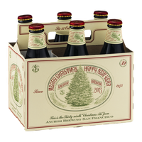 Anchor Brewing Merry Christmas Happy New Year Ale - 6 CT