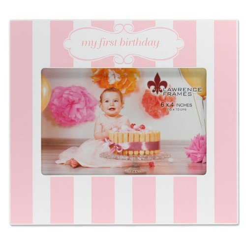 Lawrence Frames My First Birthday Frame - Pink