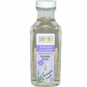Aura Cacia Aromatherapy Bubble Bath Relaxing Lavender 13 fl oz