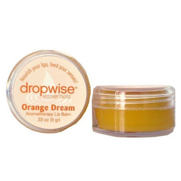 Dropwise Essentials Certified Organic Aromatherapy Lip Balm - Licorice Mint Pure Essential Oil Blend