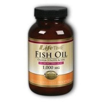 Fish Oil 1000mg EPA 300 DHA 200 LifeTime 90 Softgel