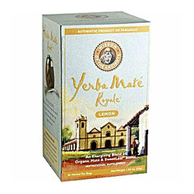 Wisdom Of the Ancients Wisdom Natural Organic Yerba Mate Royale Tea Lemon 1.77 oz