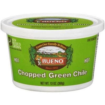 Bueno Chopped Hot Green Chile, 13 oz