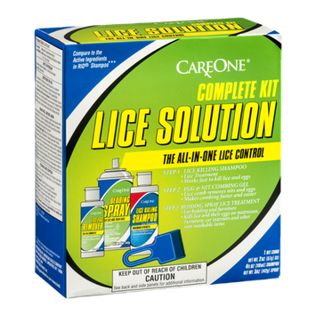 CareOne Complete Kit Lice Solution