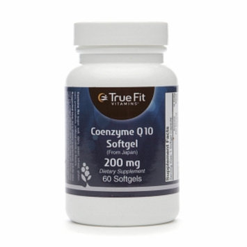 True Fit Vitamins Coenzyme Q10 Softgel 200mg