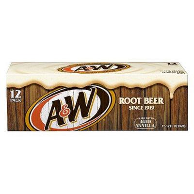 A&W Vanilla Root Beer 12 oz, 12 pk