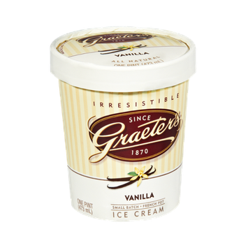 Graeter's All Natural Vanilla Ice Cream