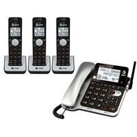 AT & T CL84302 Corded/Cordless Phone System