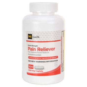 DG Health Extra-Strength Pain Reliever Caplets - 500 ct
