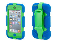Griffin Technology Survivor Case for iPod Touch 5G, Blue/Green
