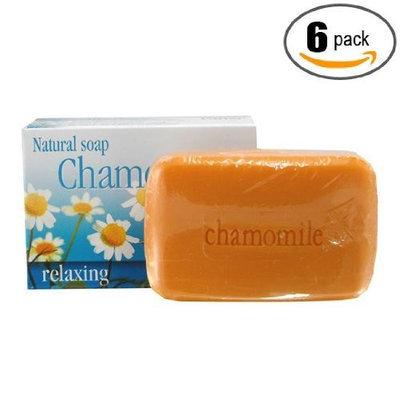 Alivio Vital 6pk - Chamomile Soap - Jabon de Manzanilla - Grisi (3.5 Oz. X 6 Units)