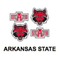 Innovative Adhesives BC-12 Arkansas State Fan-A-Peel Temporary Tattoo-Sticker