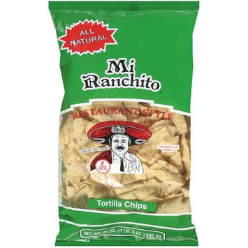 Mi Ranchito: Restaurant Style Tortilla Chips, 21 Oz