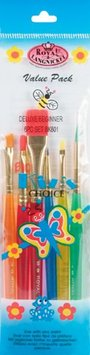 Royal Brush 270910 Big Kids Choice Beginner Brush Set-6-Pkg
