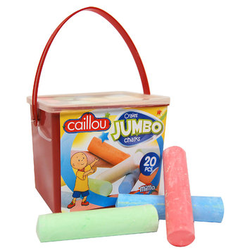 Imports Dragon IDCAI0654 CAILLOU 20PCS JUMBO CHALK BUCKET
