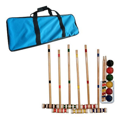 Trademark Games Complete Croquet Set with Carrying Case, Ages 10+