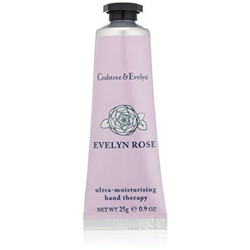 Crabtree & Evelyn Ultra-Moisturising Hand Therapy, Evelyn Rose, 0.9 fl. oz.