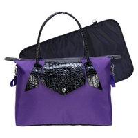 Trend Lab Rendezvous Tote Diaper Bag - Royal Purple/Black by Lab