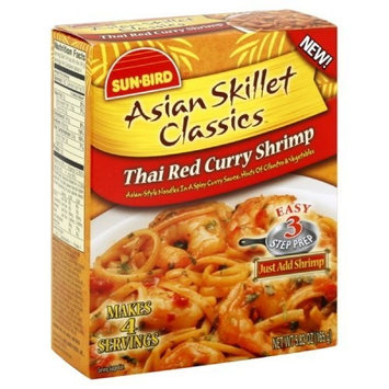 Sunbird Asian Skillet Classics Thai Red Curry Shrimp, 5.82-Ounce (Pack of 6)