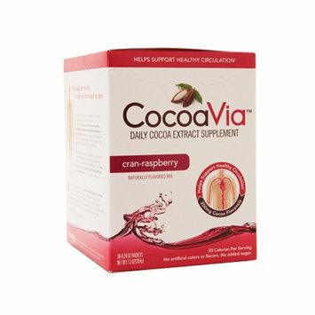 CocoaVia Cocoa Extract Drink Mix Cran-Raspberry