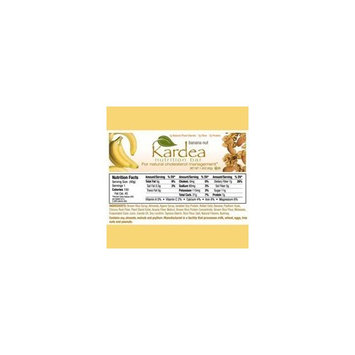 Kardea Nutrition Kardea Banana Nut Bar 1.34oz 15bars - Heart Healthy, High Fiber, Lower Glycemic, Delicious