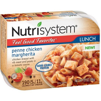 Nutrisystem Feel Good Favorites Penne Chicken Margherita Entree, 7.0 oz