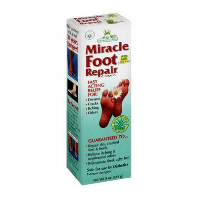 Miracle Of Aloe Foot Repair Cream