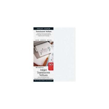 Strathmore ST59-853 8. 5 inch x 11 inch Printable Translucent Vellum Inkjet Paper