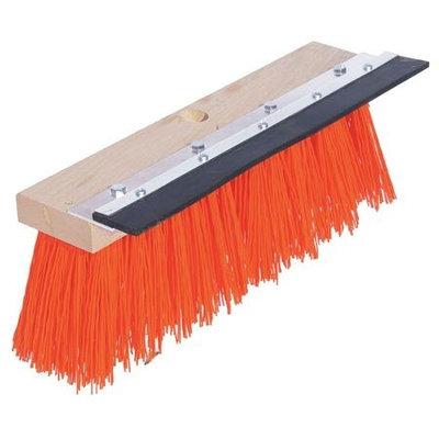 TOUGH GUY 10H922 Push Broom, PP, Hardwood Block,16 In. OAL