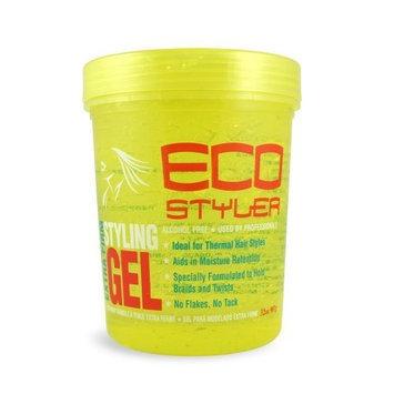 Eco Styler ECOCO Eco Style Gel, Yellow, 32 Ounce
