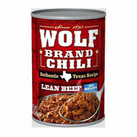 Wolf Brand Lean Beef No Beans Chili 15-oz.