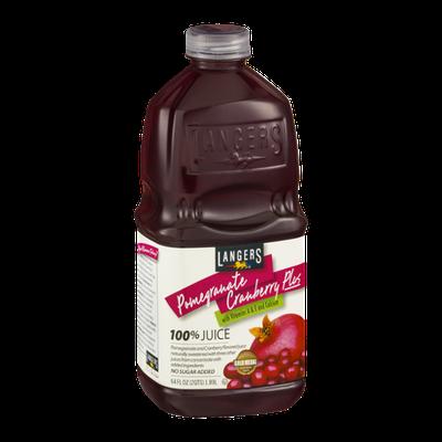 Langers Pomegranate Cranberry Plus 100% Juice