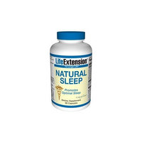 Life Extension Natural Sleep 3mg Capsules, 60-Count ( Multi-Pack)