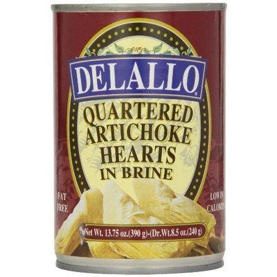 DeLallo Quartered Artichokes, 14.1 -Ounce Unit (Pack of 6)