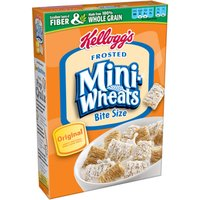 Frosted Mini Wheats Frosted Mini-Wheats Bite Size Lightly Sweetened Whole Grain Cereal
