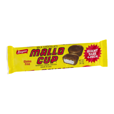 Boyer Milk Chocolate Mallo Cup - 4 CT