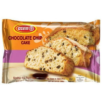 Osem Chocolate Chip Cake (Kosher for Passover), 8.8-Ounce Packages (Pack of 9)